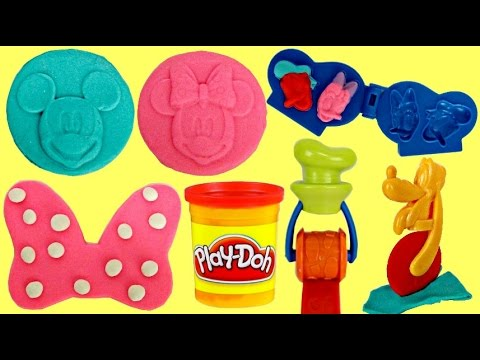 Mickey Mouse Clubhouse & Friends Play-doh Mold Playset with Minnie & Pluto
