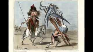 Крымская война в карикатурах Оноре Домье