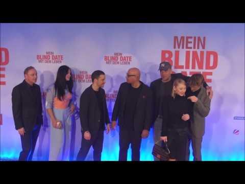 Weltpremiere von MEIN BLIND DATE MIT DEM LEBEN   München am 17 01 2017 Teil II