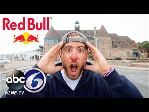 (RED BULL SPONSOR?!) I'M ON THE NEWS AGAIN!