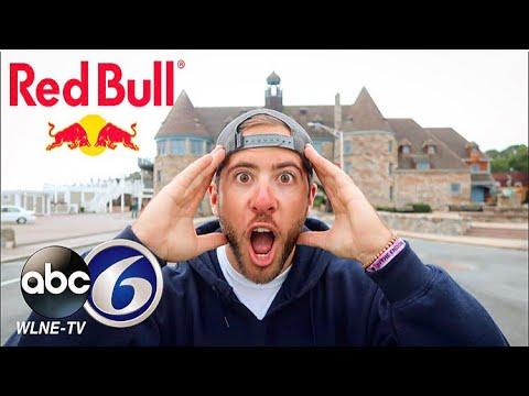 (RED BULL SPONSOR?!) I'M ON THE NEWS AGAIN!