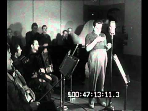 Roma - Inaugurazione della radio del combattente alla presenza del ministro Pavolini