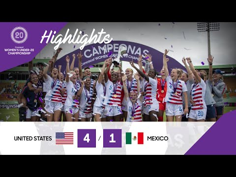 CU20W 2020 F: United States vs Mexico | Highlights