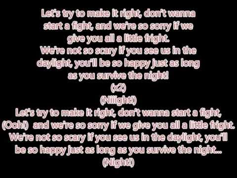 "MandoPony - ""Survive The Night (FNAF 2 Song)"" lyrics"