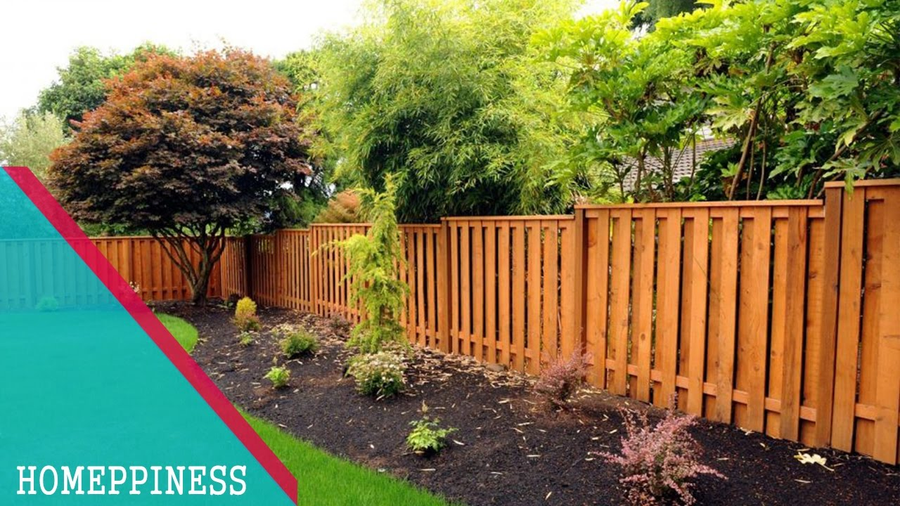 30  Best Cedar Fence Design 2017