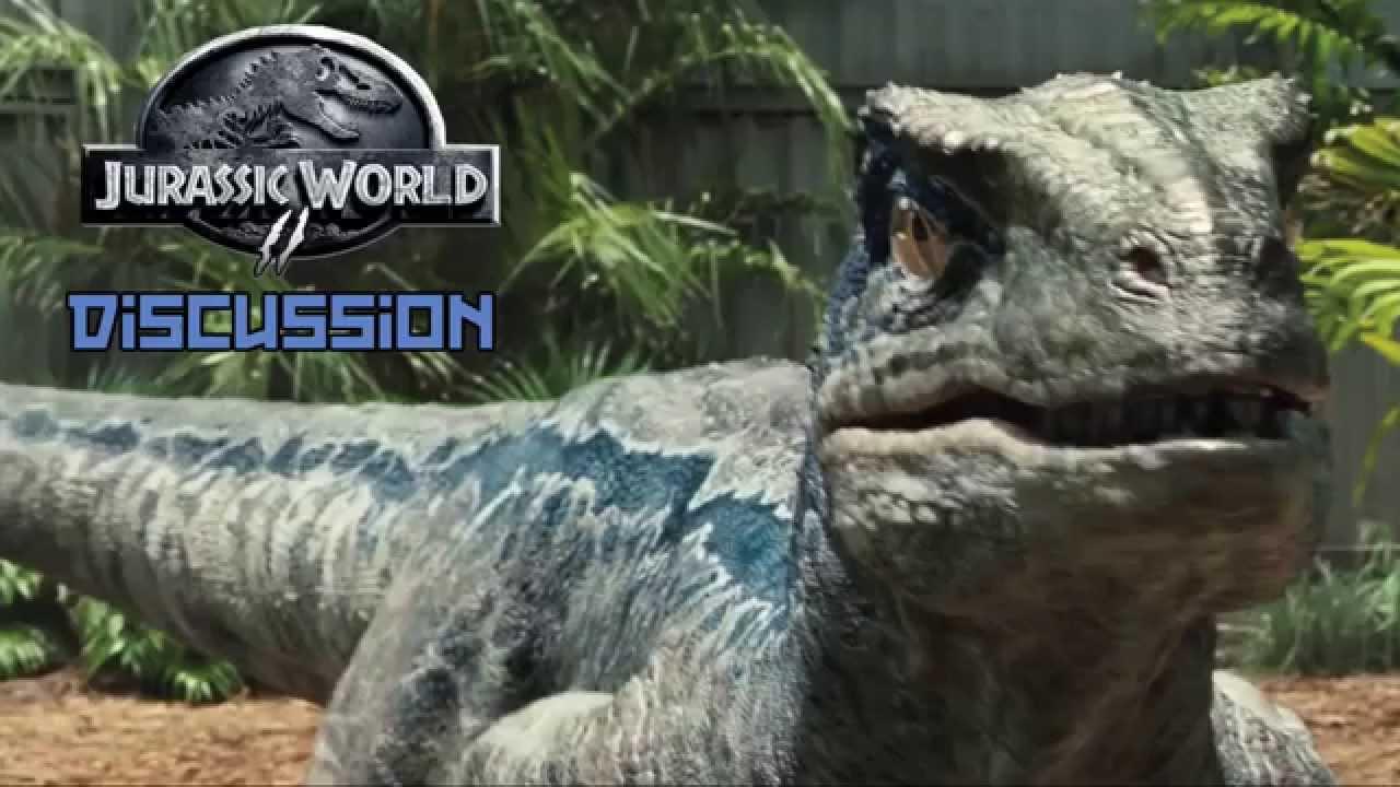 Will Blue return for Jurassic World