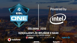 Natus Vincere vs BIG | ESL One Cologne 2018 | Finał | Dzień 6