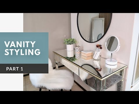 Vanity Styling part 1| Rustic Elegance| SOUTH AFRICAN YOUTUB