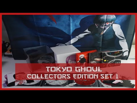 Anime Unboxing | Tokyo Ghoul Season 1 Collector's Edition [DVD/Blu-ray Combo] 2016