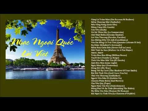 Nhạc Ngoại Quốc Lời Việt