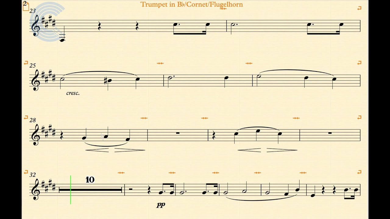 Trumpet - Moonlight Sonata - Beethoven - Sheet Music & Chords
