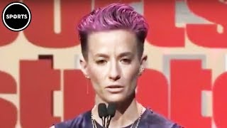 Megan Rapinoe Calls Out Sports Illustrated During Speech