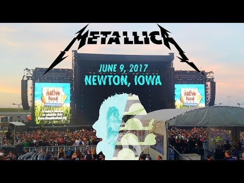 Metallica - Live at Iowa Speedway, Newton, IA, USA (2017) [Full show] [1080p]