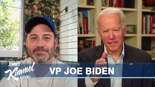 Jimmy Kimmel's Quarantine Minilogue – Vice President Joe Biden