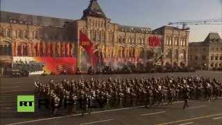 LIVE: Military parade commemorates Red Square legendary 1941 march