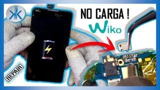 👍✔ COMO REPARAR MOVIL CELULAR QUE NO CARGA / Wiko Lenny 2