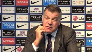 Manchester City 5-0 Crystal Palace - Sam Allardyce Full Post Match Press Conference