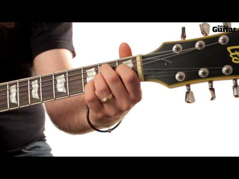 Guitar Lesson: Learn how to play Nirvana - Serve The Servants (TG253)