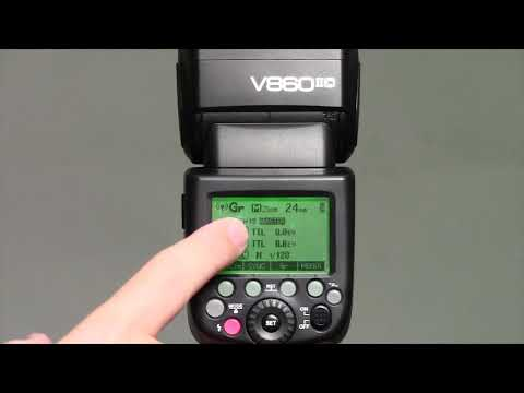 Godox V860ii And TT685 As A Master Flash - Canon