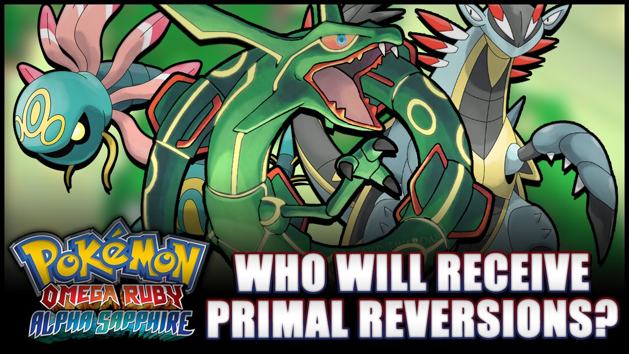 Pok 233 Mon Omega Ruby And Alpha Sapphire Will Rayquaza And