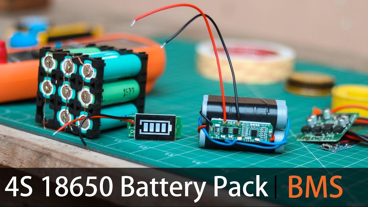make your own 4s lithium battery pack bms steve willson kujur [ 1280 x 720 Pixel ]