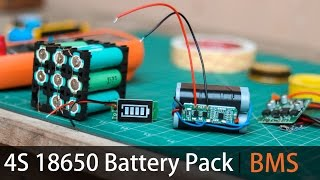 Make your own 4S Lithium battery Pack | BMS