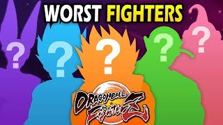 Top 10 Worst Characters in Dragon Ball FighterZ