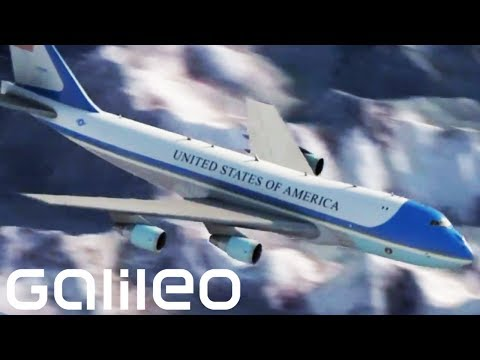 Inside in Air Force One | Galileo