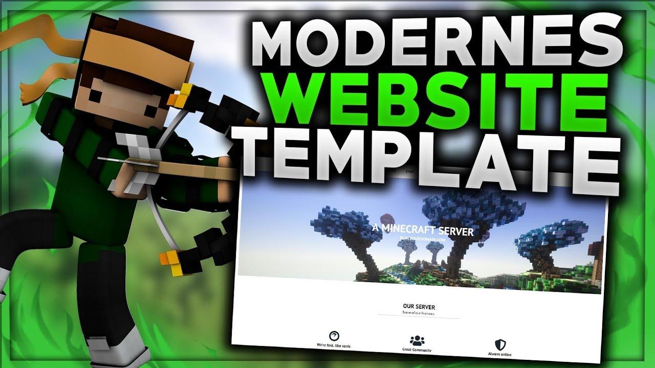MODERNES WEBSITE TEMPLATE