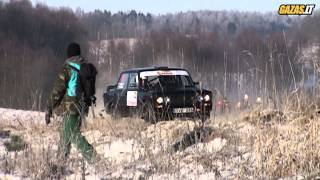 Halls Winter Rally 2014 - SS8/10 in slow motion