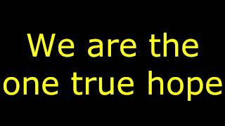 Repeat youtube video Lyrics: We Came As Romans - Hope