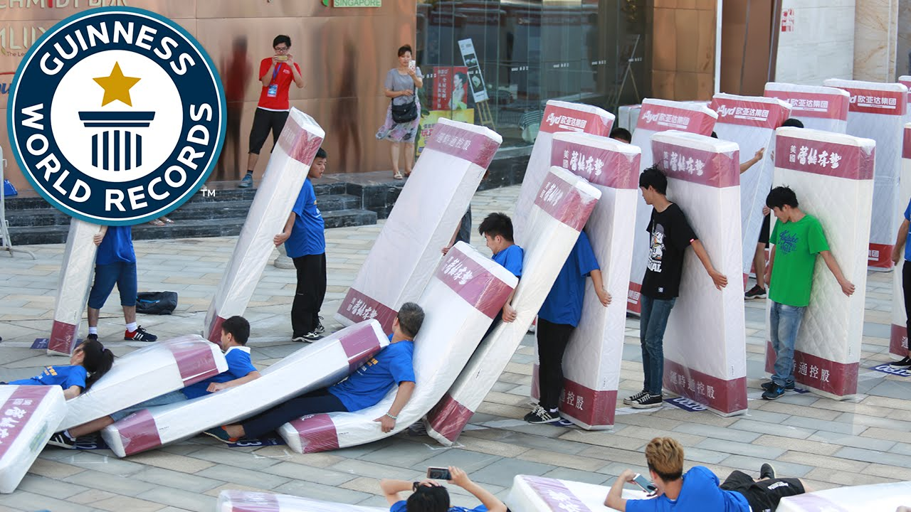 Image result for Largest Human Mattress Dominoes
