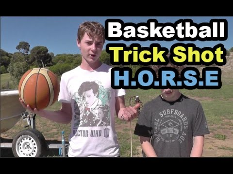 Thumbnail: Basketball Trick Shot HORSE