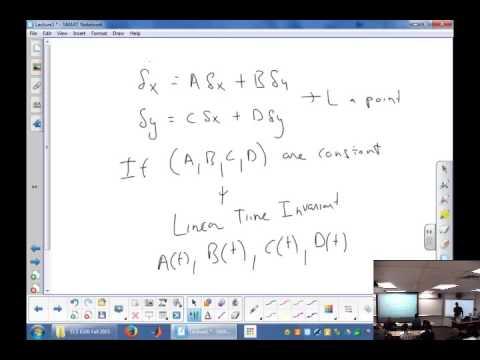 Fa15 ECE 6320: Lecture 5: Feedback Linearization, Causality, LTI systems