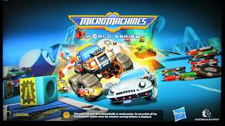Quick Look at MicroMachines World Series PS4 LPOS