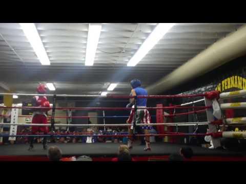 Claude Mbula 12/03/16 San Fernando Gym 1st Round