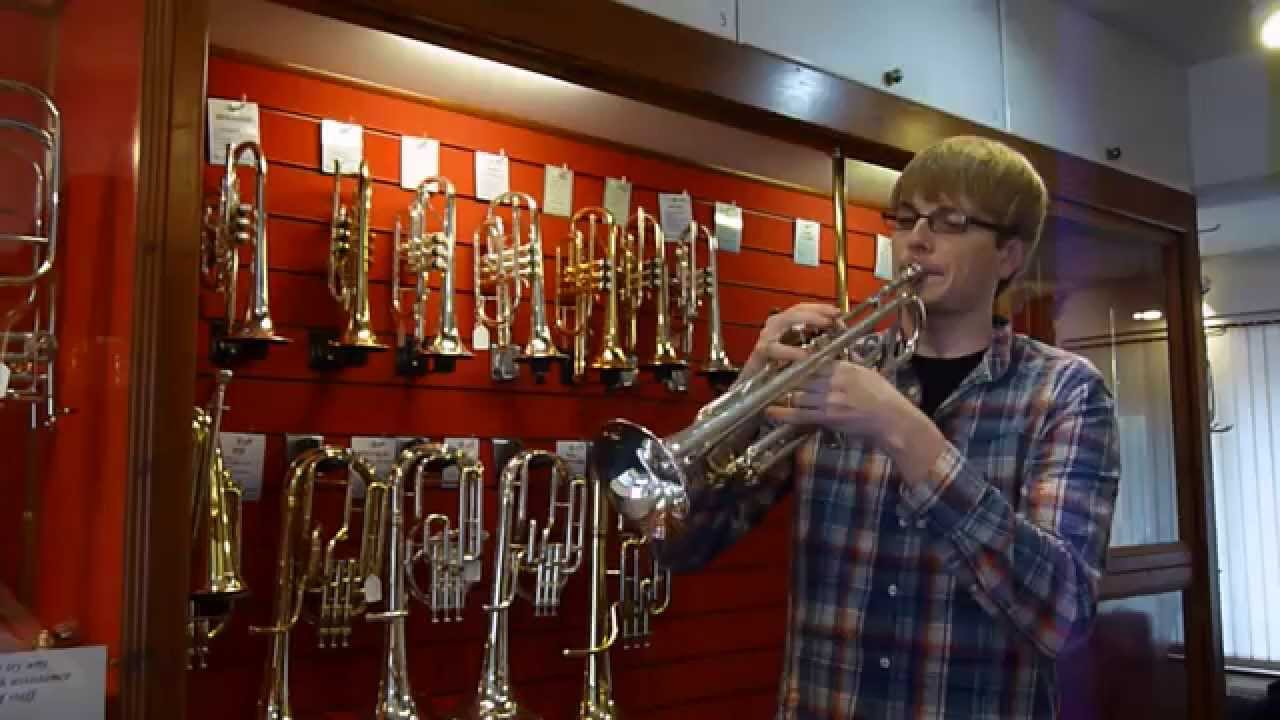 Yamaha YTR4335GS Bb Trumpet - Matt Sherwood Demonstration