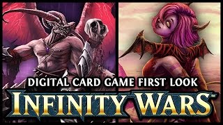 INFINITY WARS - An Animated Digital Card Game with Simultaneous Turns (Sponsored)
