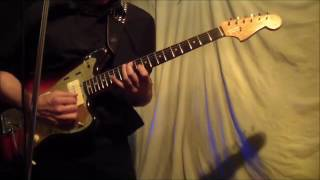 Into The Sky - on a Vintage 1958 Fender Jazzmaster - 07-17-16