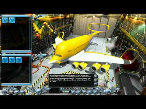 Airline Tycoon 2 - Gameplay Trailer