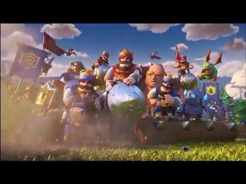 Clash Royale VS Castle Crush - 1ère Vidéo Sur CR !