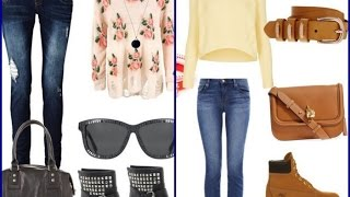 Fall LookBook with Jeans  - 11 Fashion Outfit Ideas
