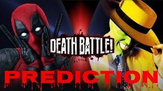 DEATH BATTLE Prediction: Deadpool VS Mask
