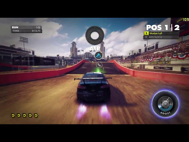Dirt Showdown - Mitsubishi Evo - ShadowPlay - Xbox Controle