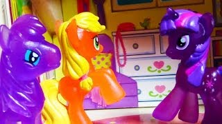 MLP Twilights New House Tour Playset Playing My Little Pony Apple Jack Friends
