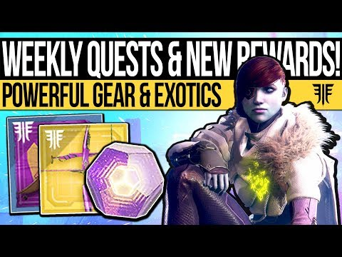Destiny 2 | NEW QUESTS & WEEKLY RESET! Event Reveal, Powerful Gear, Activities & Eververse (9th Oct)