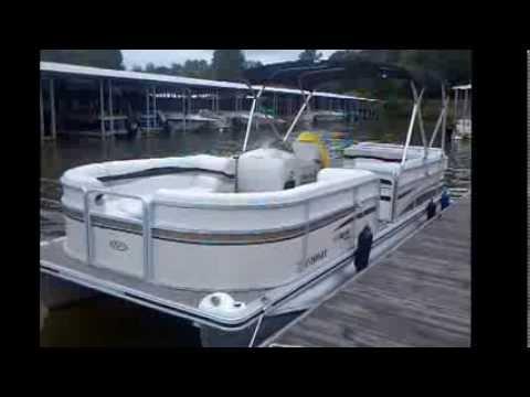 2006 Harris 240 SunLiner W/ 90HP Merc, Used Pontoon For Sale Lake Wylie SC Charlotte NC