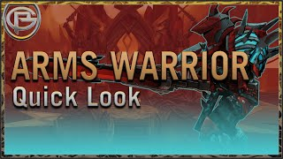Arms Warrior - Shadowlands: Quick Look