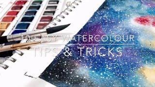 10 Easy Watercolour Tips & Tricks