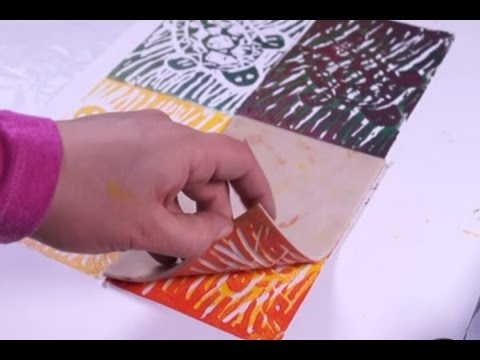 How to do Lino Printing | Fatema's Art show